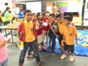 Guam School Visit 2